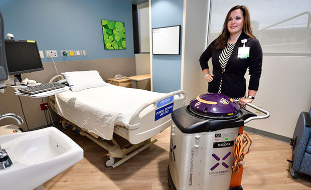 A Kentucky Hospital Is Using Robots to Eradicate Infection