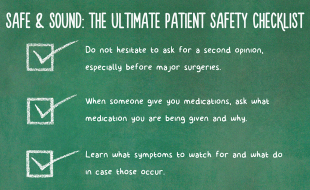 Safe and Sound The Ultimate Patient Safety Checklist